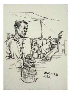 武汉尚上画室速写图6