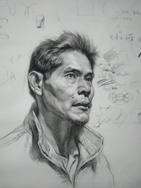 哈尔滨自由文化艺术学校素描图1