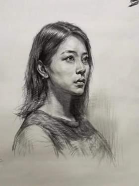 哈尔滨自由文化艺术学校素描图2