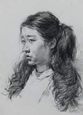 郑州106画室素描图1