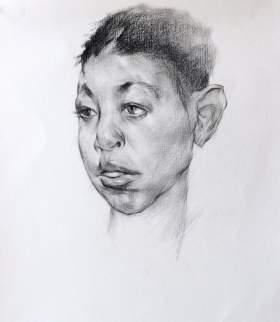 广西卓彩艺术培训学校素描图6