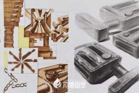 济南风塘画室设计图8