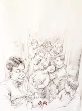 杭州正向画室速写图4