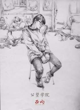 杭州正向画室速写图7