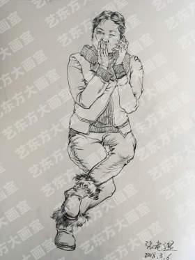 艺东方大画室速写图5
