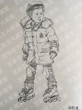 艺东方大画室速写图4