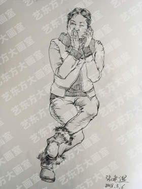 艺东方大画室速写图1