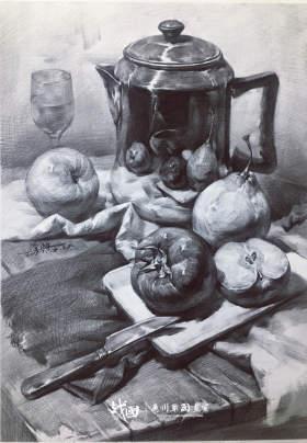 战国画室素描图5