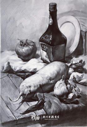 战国画室素描图2