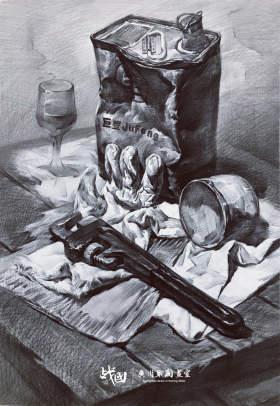 战国画室素描图6