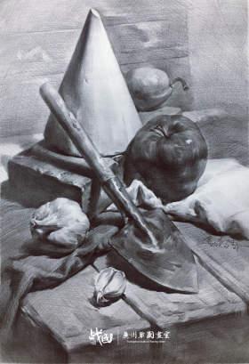 战国画室素描图4