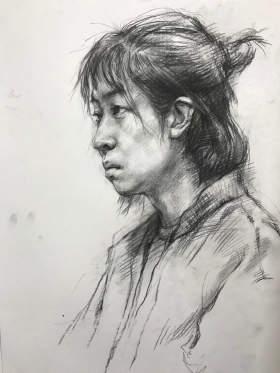 杭州天空学堂素描图1