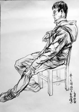 杭州天空学堂速写图5