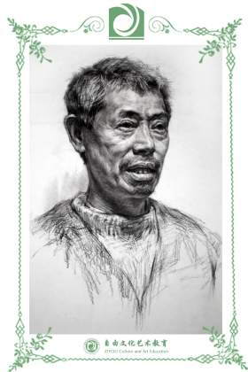 哈尔滨自由文化艺术学校素描图3