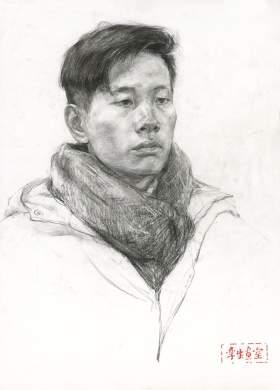 杭州孪生画室素描图2