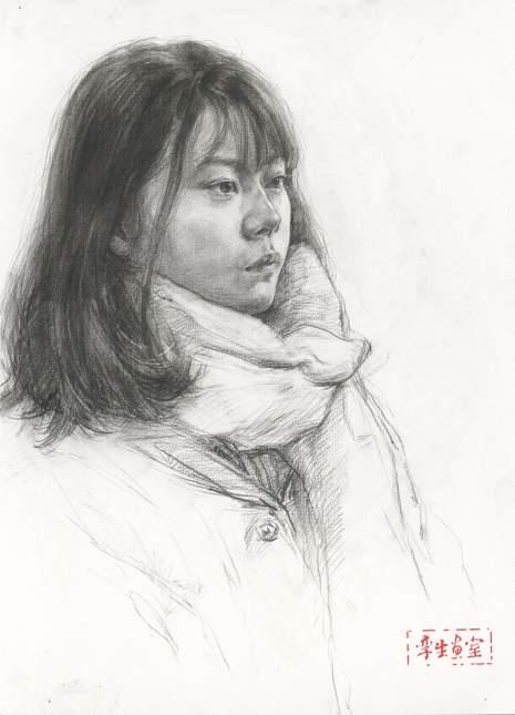 杭州孪生画室素描图6