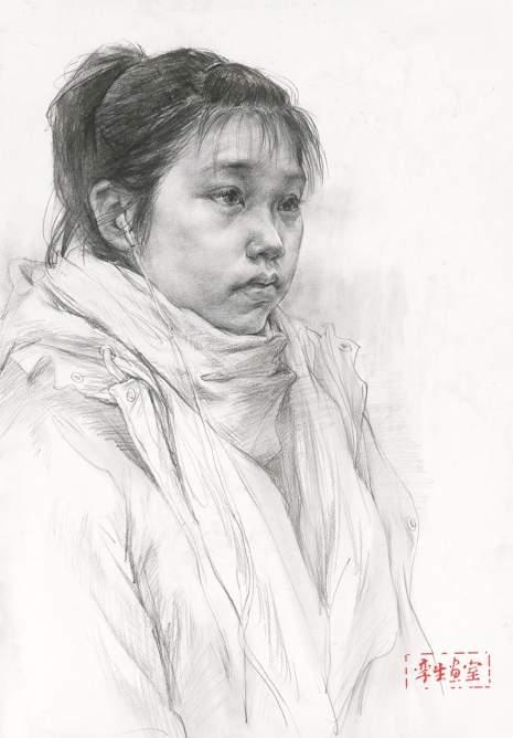 杭州孪生画室素描图4