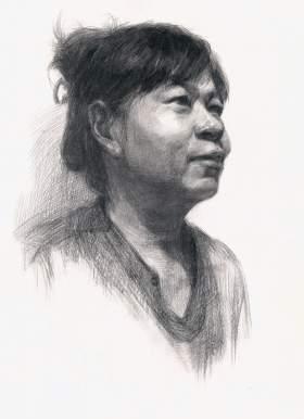 大庆玊彩美术学校素描图5