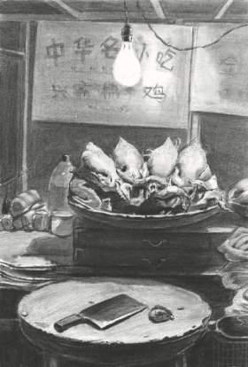 南昌水木源画室素描图5
