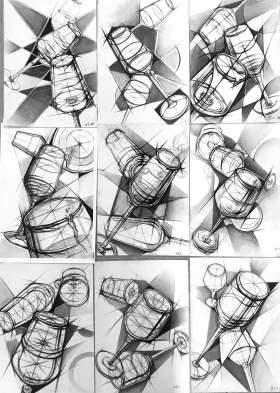 成都红土地画室设计图3
