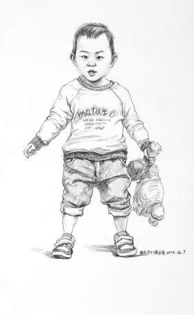 济南小泽画室素描图1