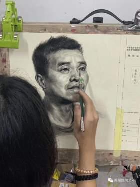 郑州国风艺考画室素描图6