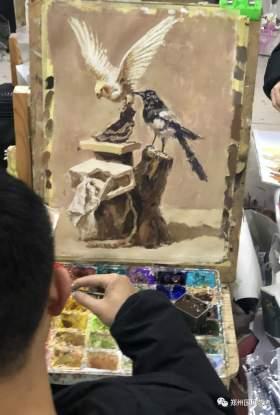 郑州国风艺考画室色彩图3
