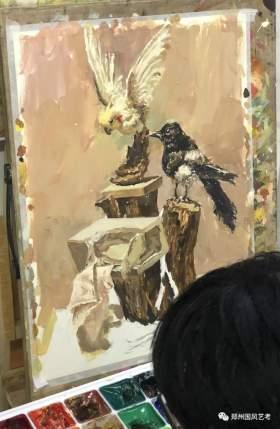 郑州国风艺考画室色彩图5