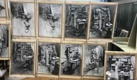 郑州国风艺考画室素描图4