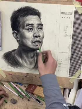 郑州国风艺考画室素描图5