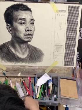 郑州国风艺考画室素描图8