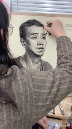 郑州国风艺考画室素描图7