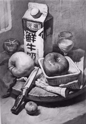 杭州鲸蓝画室素描图8