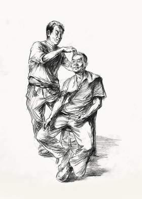 杭州将军画室速写图3