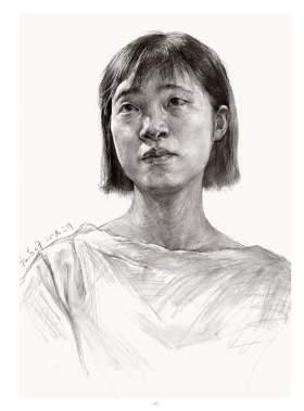杭州将军画室素描图7