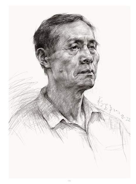 杭州将军画室素描图5