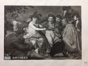 杭州小耳鲸美术素描图3