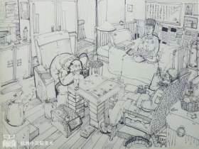 杭州小耳鲸美术创作图1