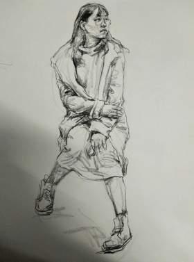 杭州麓山画室素描图4