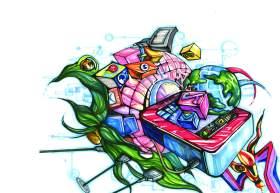 杭州麓山画室设计图2