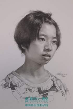 郑州八一画室素描图6
