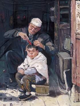 北京新意新象画室创作图1