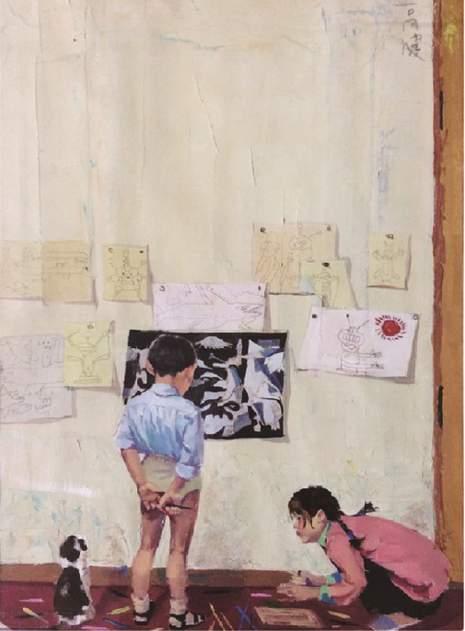 北京新意新象画室创作图3