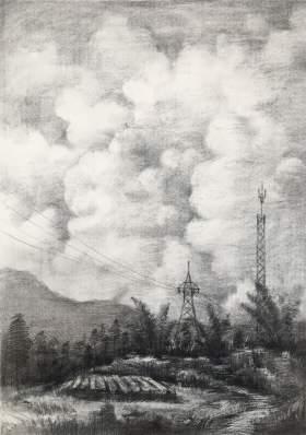 武汉求索传奇画室素描图6