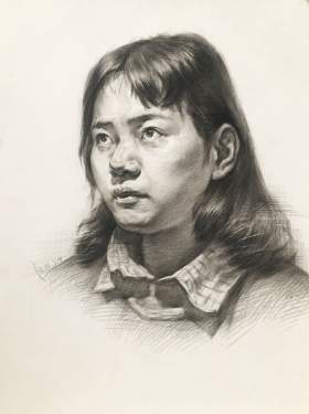武汉求索传奇画室素描图7