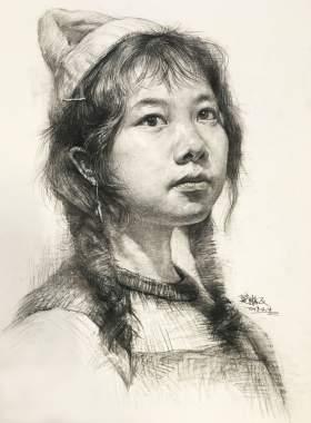武汉求索传奇画室素描图8