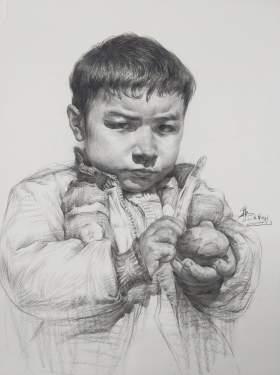 武汉求索传奇画室素描图2