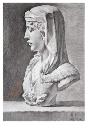 武汉求索传奇画室素描图1