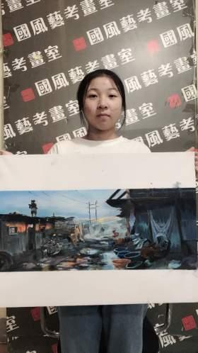 郑州国风艺考画室创作图5