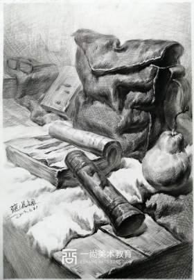 广州一尚画室素描图2